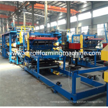 Autmatic Roof / Wall EPS Sandwich Panel Roll Forming Machine
