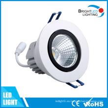 LED abajo luz 12W CE y RoHS LED Downlight