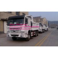 10 Wheels SINOTRUK Dump Truck LHD 371 HP