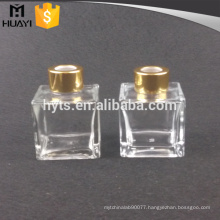 100ml square glass aroma reed diffuser bottles wholesale