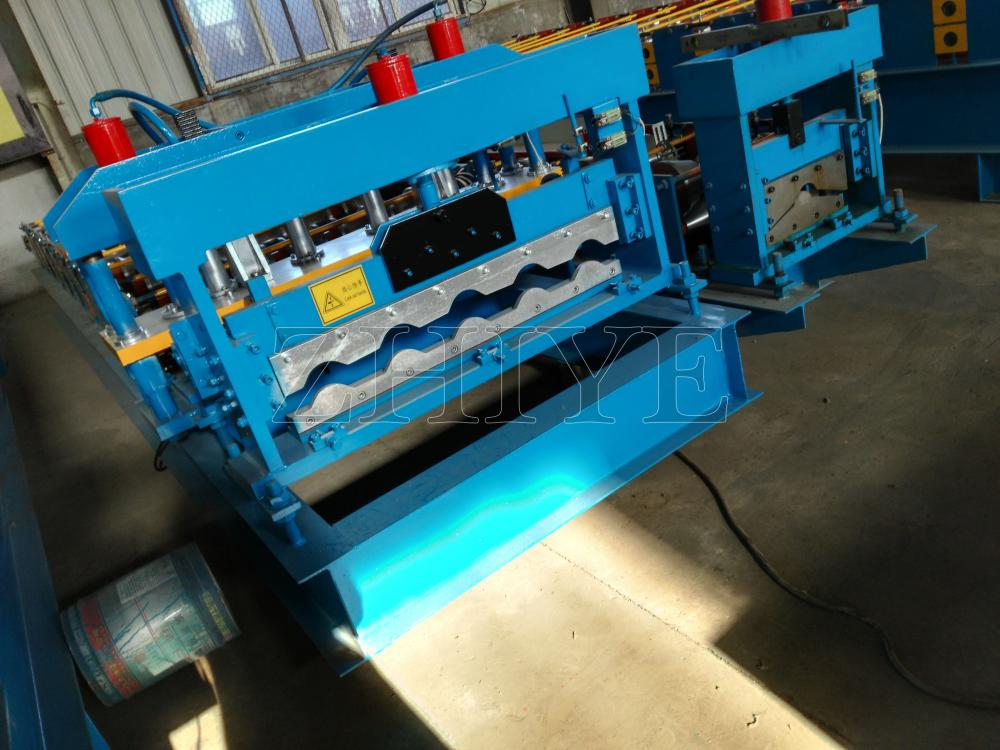 ZhiYe GI Glazing Roof Sheet Press Machine