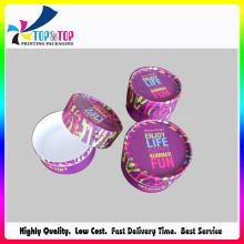 Heiße Farbe Süßigkeit-Papier-Kasten / Süßigkeit-Kasten / runde Verpackungs-Kasten