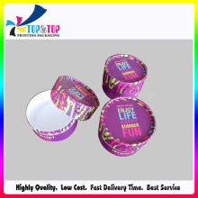 Hot Color Candy Caja De Papel / Caja De Dulces / Redondo Caja De Embalaje