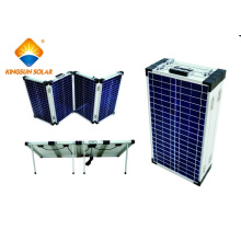 80W-200W Mono / Poly High Efficiency Portátil 4-Folding módulos solares