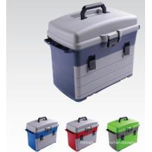 Nova caixa de equipamento de pesca por atacado de três bandejas