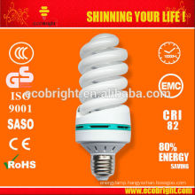 Hot! SKD 65W 17mm Full Spiral energy saving lamp 10000H CE QUALITY