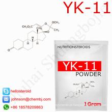 Venda direta da fábrica Yk11 431579-34-9 pó Yk-11 da hormona esteróide de Sarms
