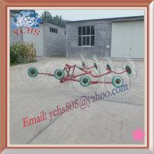 Farm Machinery 8 Tines Tractor Hanging Hay Rake