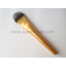 Private Label Facial Mask Brush Golden Makeup Foundation Brush