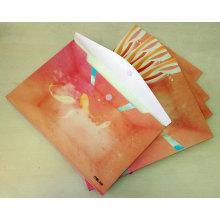 Печатный пуговичный конверт / почтовый пакет