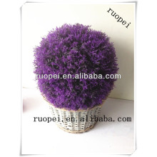 Artificial purple lavender grass ball for home and garden decoration