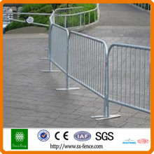 iron traffic barriers / crowd control barricade