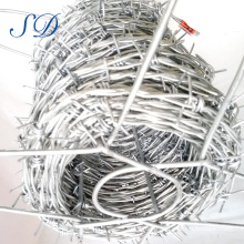 Hot Sale 500 Meters Barbed Wire Length Per Roll