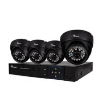 DIY 4-Kanal-AHD-CCTV-Kit mit festem Fokus