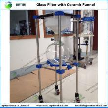 TOPT-CL-50 China 10- 100L filtro de vacío de laboratorio de borosilicato