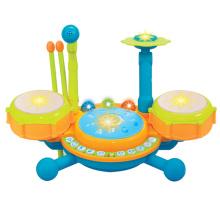 Niños juguetes de instrumentos musicales juguete de juguete B / O batería (h0410512)