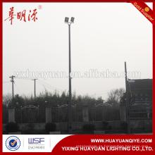 Plegable o articulado acero galvanizado al aire libre y poste de iluminación y poste de vigilancia