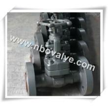 Aço forjado F11 Flange Globe Valve (J47H)