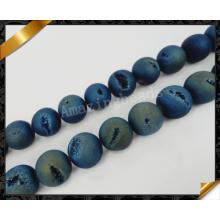 Vente en gros de perles de pierre d'agate Druzy (YAD023)