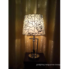 Romantic Rose Decorative Bedside Table Lamp (TL 1558//C+BT+WT)