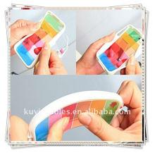 NOUVEAU Étuis White Rainbow pour iphone 4 4G Flip Cover