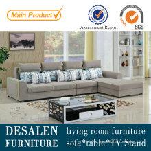 Modern China Fabric Sofa with Chair (827)