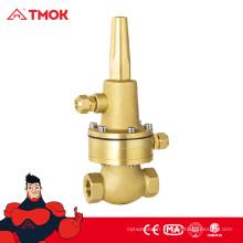 Pression de soupape de dérivation en laiton haute pression réduisant les vannes de dérivation de poussée de l'eau