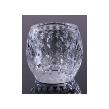 Tealight Glass Diamond Ball