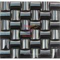 Black Arch Shape 304 Stainless Steel Metal Mosaic (CFM886)