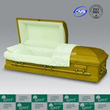 LUXES estilo americano colorido caixão para o Funeral e cremação