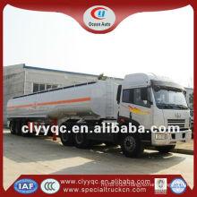 3 axle tankers, 50cbm oil tanker, semi trailer oil storage tank