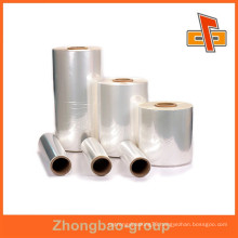 Multipurpose pvc food wrap film pvc roll film PVC shrink wrap for beverage packaging