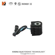 Pièces détachées pour excavatrices de haute qualité Bobine solénoïde Electrovanne 12V