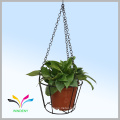 High quality Facoty Supply New Design Metal wire hanging flower pot rack with competitive price