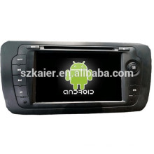 Android 4.4 Mirror-link Glonass / GPS 1080P dual core multimedia central del coche para VW Seat con GPS / Bluetooth / TV / 3G