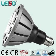 Conception de réflecteur 20W 3200k Patent Patent Scob PAR38 LED Lampe