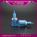 Nouveau design beauté en plastique acrylique 8ml bouteille de vernis à ongles uv vide