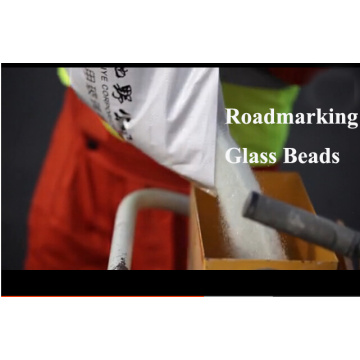 Glass Beads for Mark Road Traffic Lines