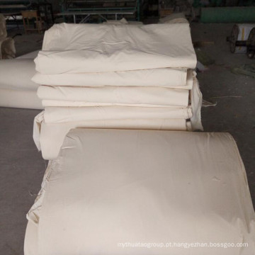 Tecido 100% algodão tecido cinza