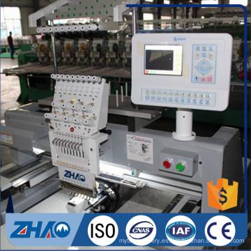 Zhaoshan un precio de la máquina del bordado de la cabeza del casquillo para la venta