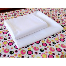 BLEACHED FABRIC WHITE PLAIN