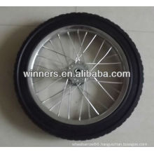 "16""x1.75"" solid rubber wheel , tool cart wheel , bicycle wheel"
