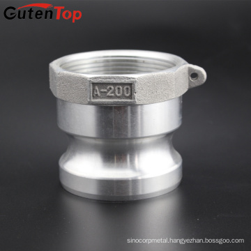 GutenTop 1'' Type A Adapter x NPT Female Camlock Brass Or Aluminum Cam and Groove Hose Fitting