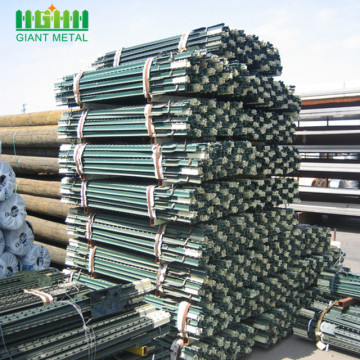 Factory supply t post for cattle fence