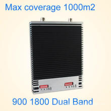 27dBm 900MHz + 1800MHz Repetidor de señal de doble banda / repetidor GSM St-Gd27