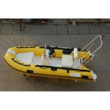Bateau d'aviron de canot pneumatique RIB360 tendre avec bateau de luxe de CE