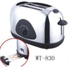 Pan 2 rebanadas tostadora con fijos asar logotipo opcional (WT-830)
