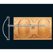 Peças de madeira de faia vapor