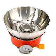 Quemador de gas de acero de las piezas de la cocina que acampa