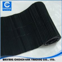 Corrugated aluminum butyl flashing tape